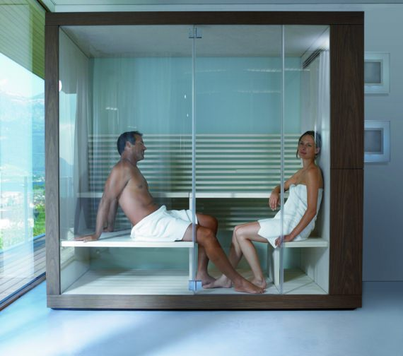 Alternate image of Duravit Inipi Sauna 2350 x 1186mm Freestanding Version