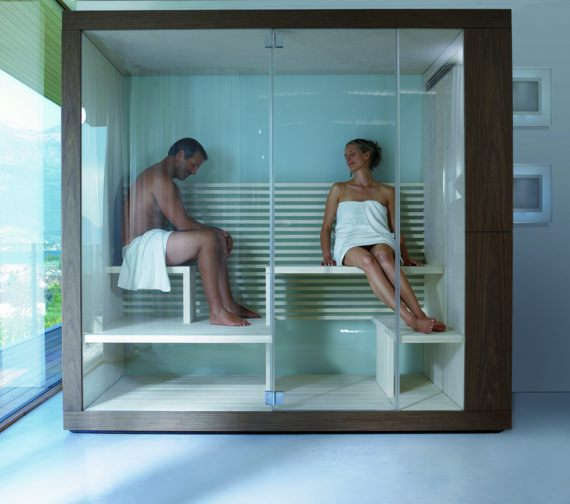 Alternate image of Duravit Inipi Sauna 1800 x 1186mm Freestanding Version