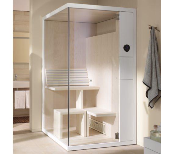 Duravit Inipi B Corner Sauna Super Compact 1175 x 1170mm