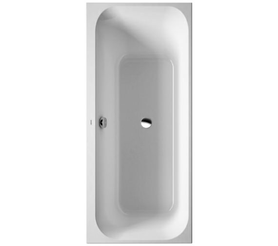 Duravit Happy D2 Built-In 1600 x 700mm Bath Left Slope With Frame
