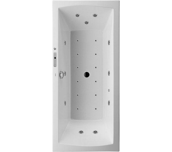 Duravit Daro 1800 x 800mm Built-In Rectangular Bath - Combi System L