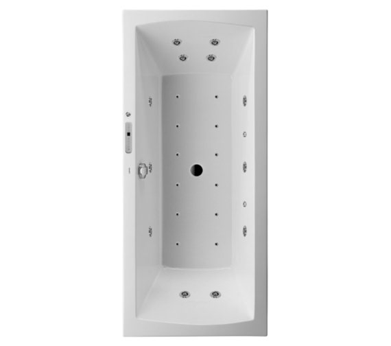 Duravit Daro 1800 x 800mm Built-In Rectangular Bath - Combi System E