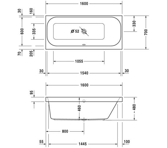Technical drawing QS-V3541 / 700322000000000