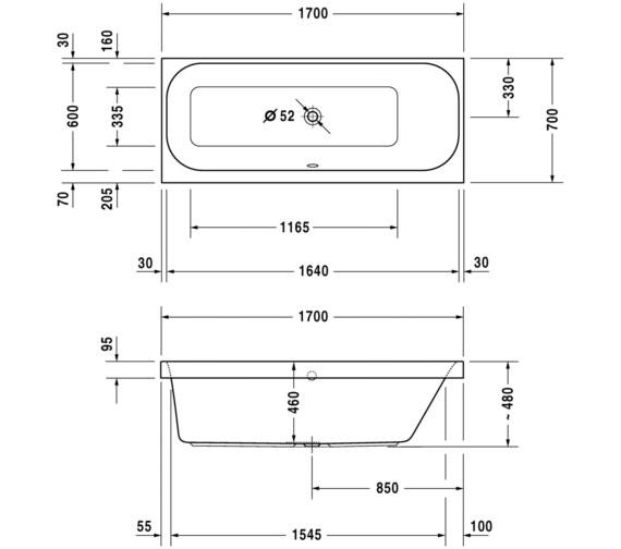 Technical drawing QS-V3542 / 700324000000000