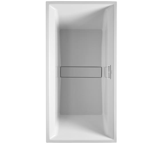 Duravit 2nd Floor 2000 x 1000mm Built-In Bath With Support Frame