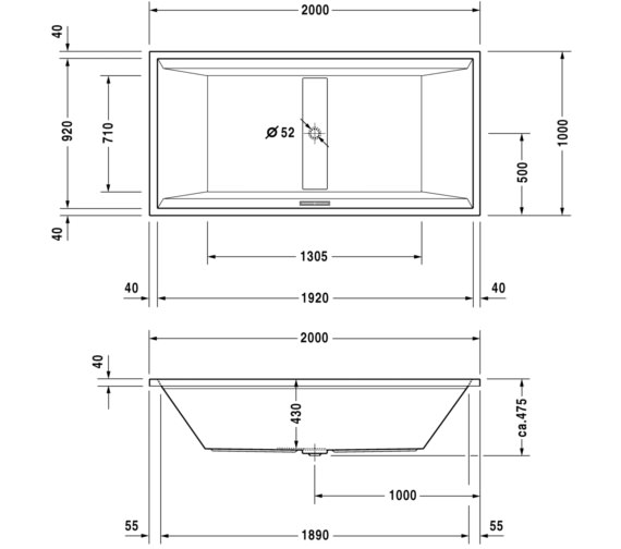Technical drawing QS-V63196 / 760161000JS1000
