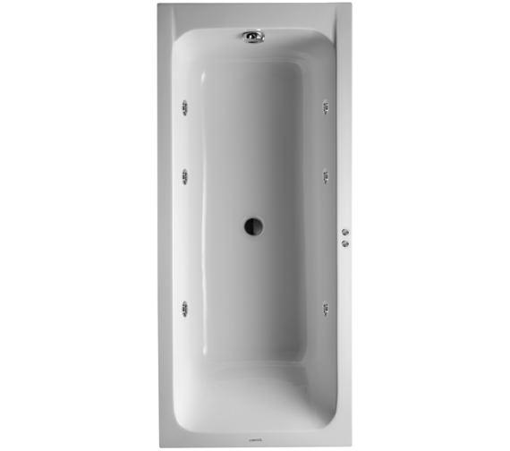 duravit d code 1700x750mm bath central outlet jet. Black Bedroom Furniture Sets. Home Design Ideas