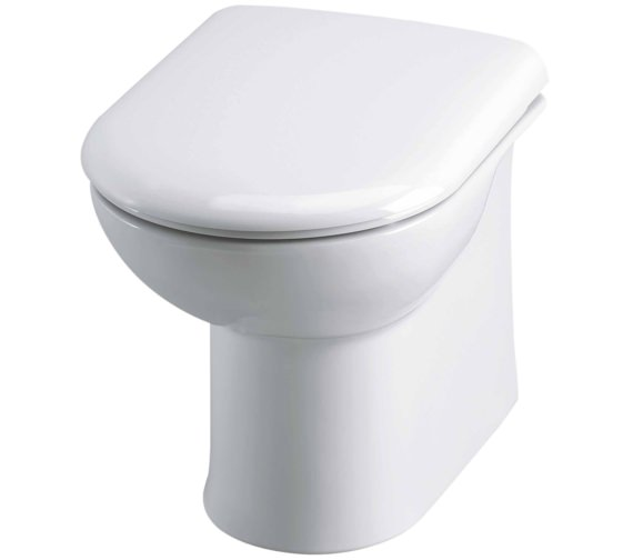 Nuie Linton Back-To-Wall WC Pan And Soft Close Seat