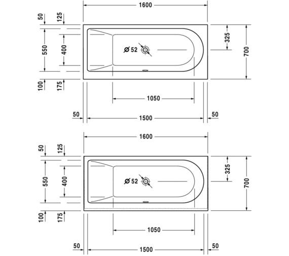Technical drawing QS-V83461 / 700238000000000
