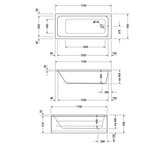Technical drawing QS-V6454 / 700100000000000