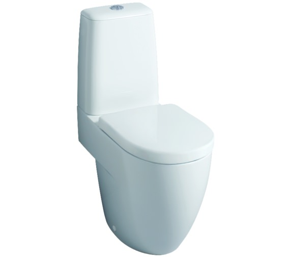 Twyford 3D 680mm Close Coupled WC Suite With Standard Seat