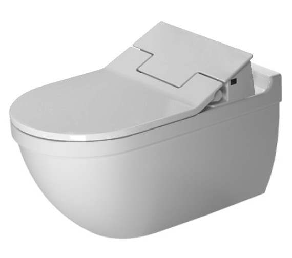 Duravit SensoWash Slim Seat With Starck 3 Wall Mounted Toilet
