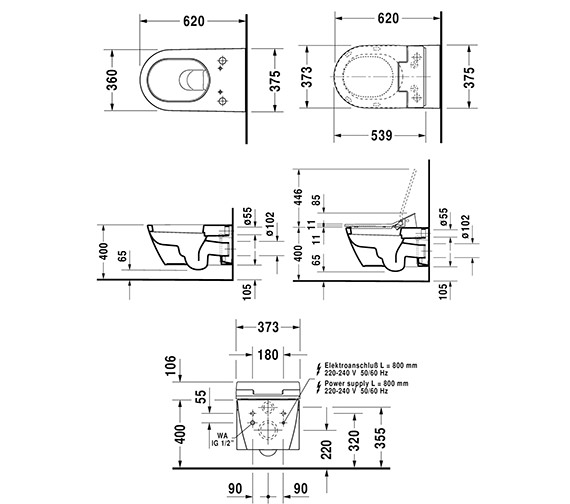 Technical drawing QS-V63467 / 611000002004300