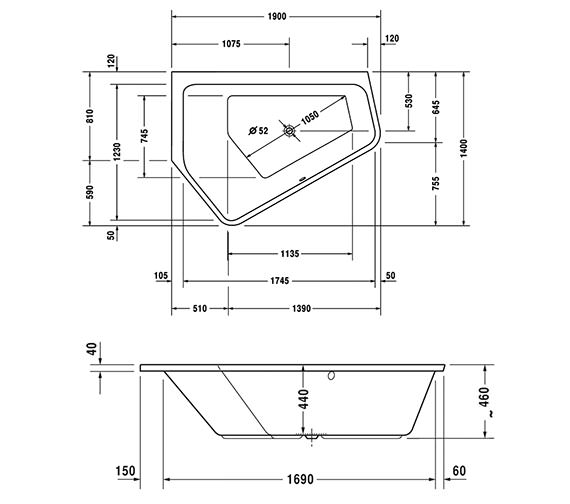 Technical drawing QS-V50342 / 760392000JS1000