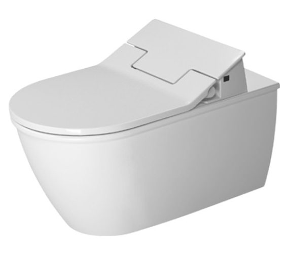 Duravit SensoWash Slim Seat With Darling New Wall Mounted Toilet