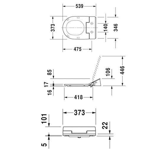 Technical drawing QS-V63464 / 611000002004300