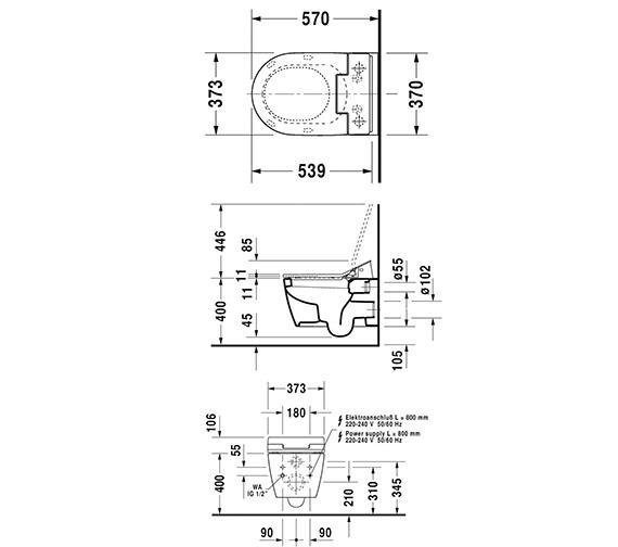 Technical drawing QS-V63462 / 611000002004300