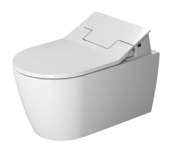 Duravit SensoWash Slim Seat With Me By Starck Rimless Wall Mounted Toilet
