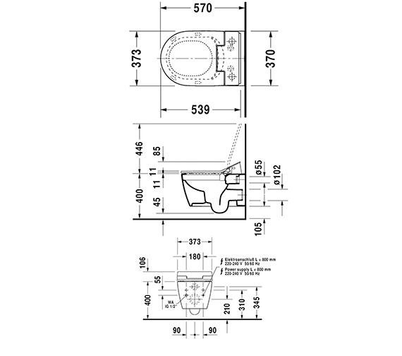 Technical drawing QS-V63463 / 611000002004300