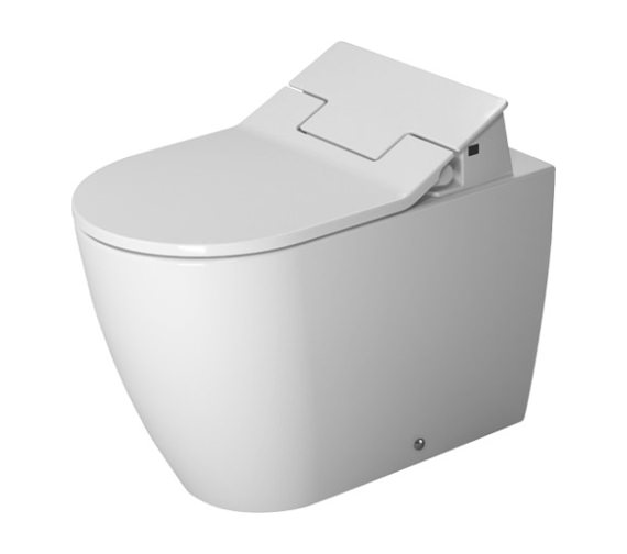 Duravit SensoWash Slim Seat With Me By Starck Back To Wall Toilet