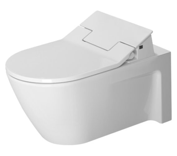 Duravit SensoWash Slim Seat With Starck 2 Wall Mounted Toilet