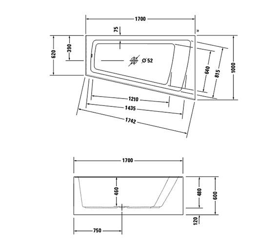 Technical drawing QS-V21139 / 700265000000000