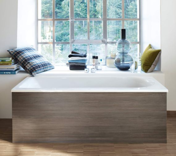 Additional image of Duravit Darling New 1700 x 700mm Bath With Right Slope And Jet-System