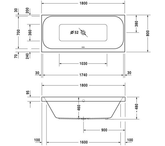 Technical drawing QS-V24881 / 700327000000000