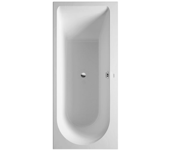 Duravit Darling New 1700 x 750mm Bath With One Backrest Slope Right