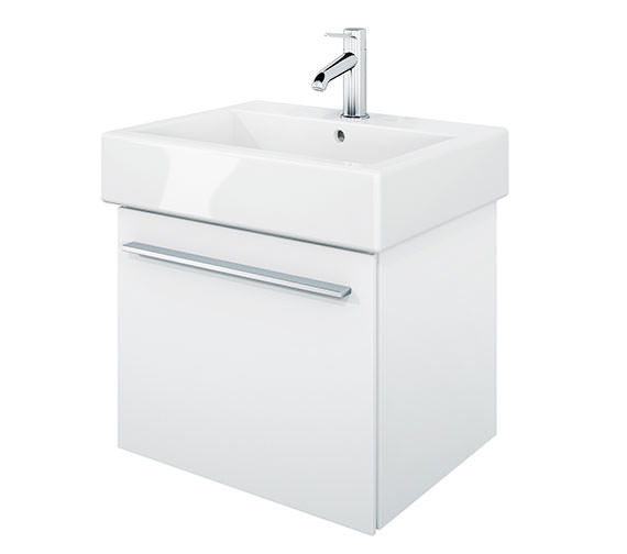Duravit X-Large 450mm Vanity Unit With 500mm Vero Washbasin