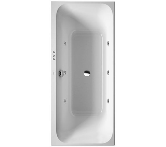 Duravit Happy D2 Built In Bath Jet System 1800mm
