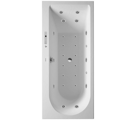 Duravit Darling New 1600 x 700mm Bath With Left Slope And Combi-System E