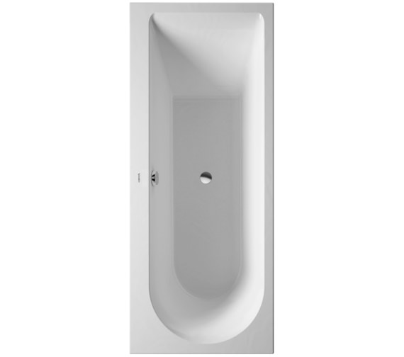 Duravit Darling New 1700 x 700mm Bath With One Backrest Slope Left