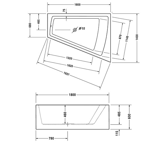 Technical drawing QS-V21143 / 700269000000000