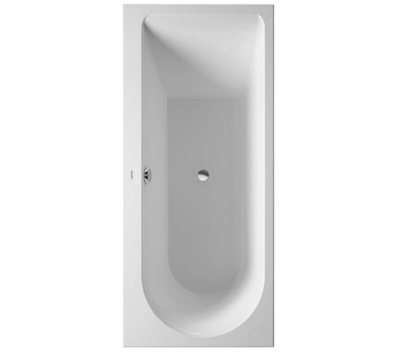 Duravit Darling New 1700x750mm Bath With Left Slope And Support Frame