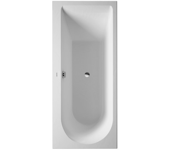 Duravit Darling New 1600x700mm Bath With Left Slope And Support Frame