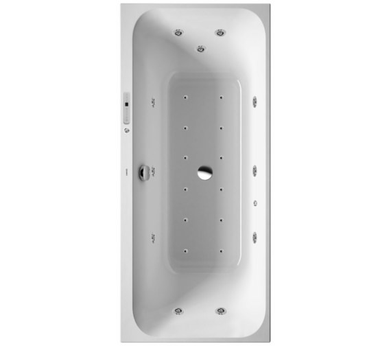 Duravit Happy D2 Built-In Bath Combi-System L 1800mm - More Sizes Available