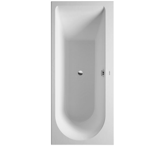 Duravit Darling New 1600 x 700mm Bath With One Backrest Slope Right