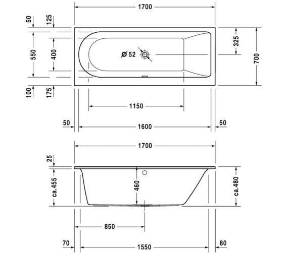 Technical drawing QS-V13394 / 760241000JS1000