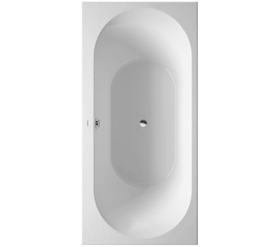 Duravit Darling New 1900 x 900mm Bath With Two Backrest Slopes