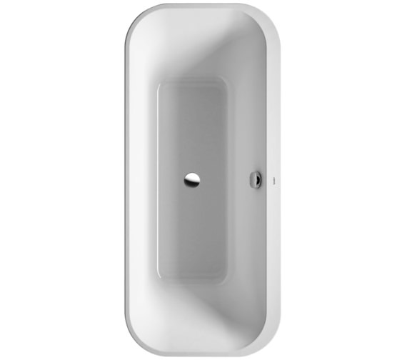 Duravit Happy D2 Freestanding 1800 x 800mm Bath With Panel And Frame