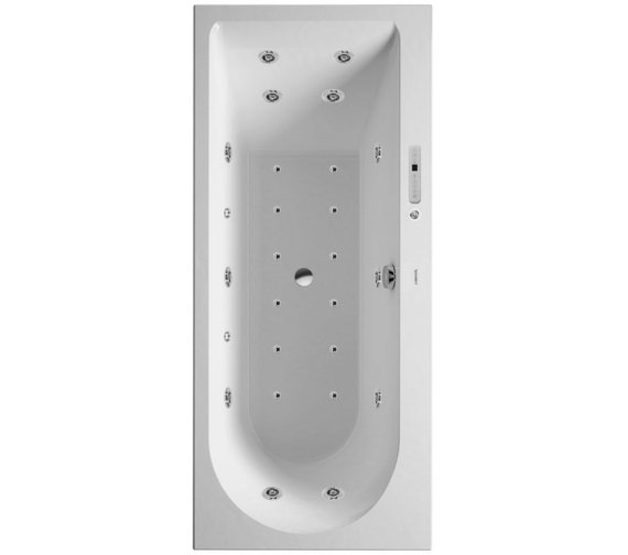 Duravit Darling New 1700 x 700mm Bath With Right Slope And Combi-System E