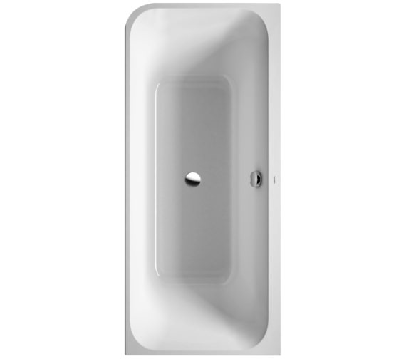 Duravit Happy D2 Corner Right 1800 x 800mm Bath With Panel And Frame