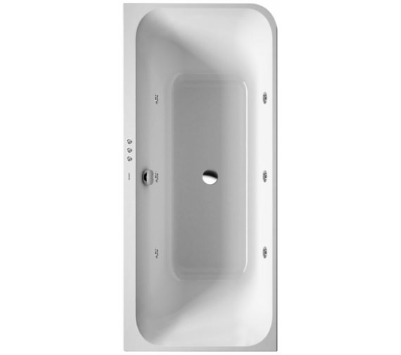 Duravit Happy D2 Corner Left 1800 x 800mm Bath With Panel - Jet-System