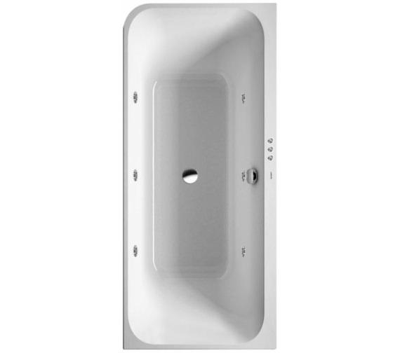 Duravit Happy D2 Corner Right 1800 x 800mm Bath With Panel - Jet-System