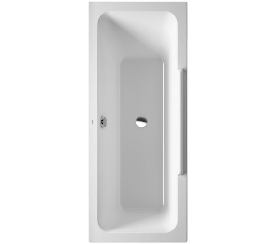 Duravit DuraStyle 1700 x 700mm Bath With One Backrest Slope Left