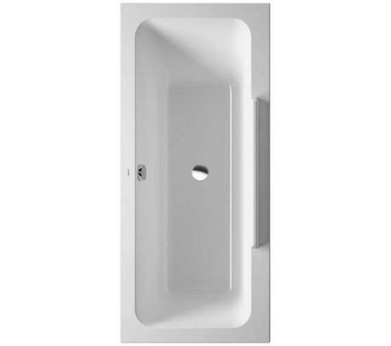 Duravit DuraStyle 1700 x 750mm Bath With One Backrest Slope Left