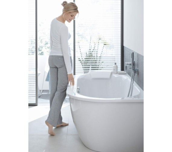 Alternate image of Duravit Darling New Back-To-Wall Bath 1900 x 900mm