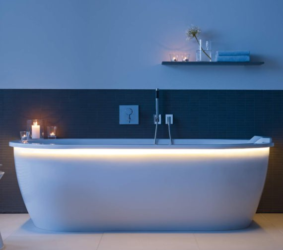 Additional image of Duravit Darling New Back-To-Wall Bath 1900 x 900mm