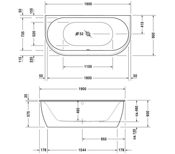Technical drawing QS-V59297 / 700248000000000